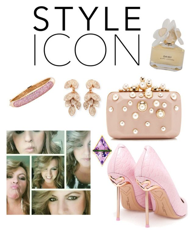 """Style Icon by Rosy A.♡"" by ahumadarosy on Polyvore featuring Elie Saab, Sophia Webster, Marc by Marc Jacobs, Pasquale Bruni and Phillips House"