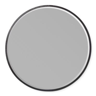 Brixton Textured Metal Round Mirror Round Mirrors Mirror Bronze Mirror Oil rubbed bronze round mirror
