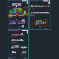 Shopping Malls architecture design Autocad drawings Collection 1 Architecture for Design