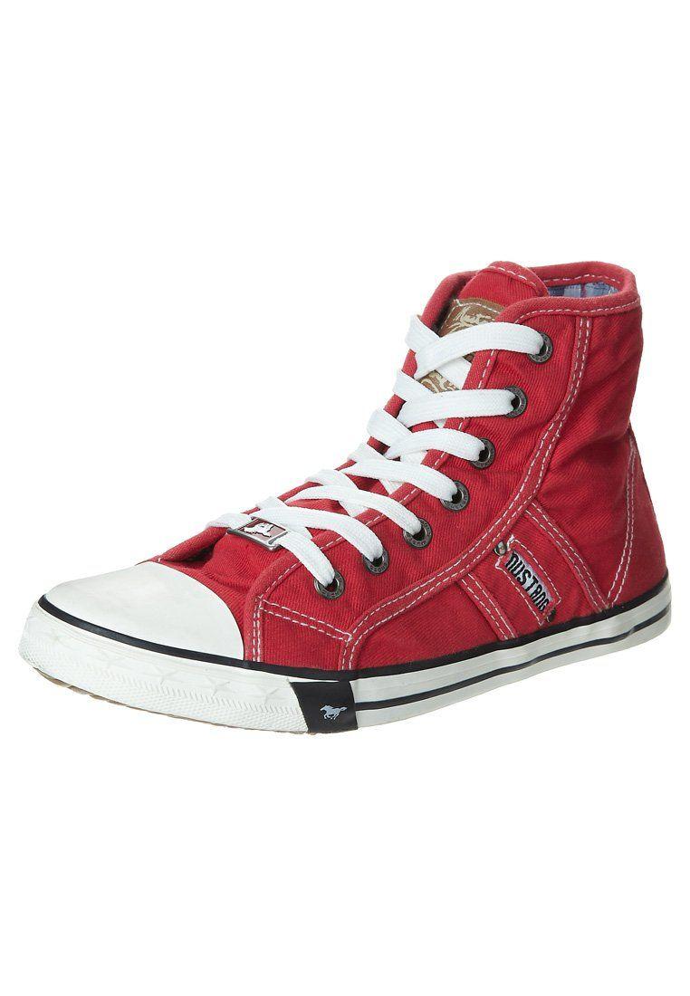 4fb5dc06a2f $50 Mustang - Sneaker high - rot Sneaker High, High Top Sneakers, Converse  Chuck