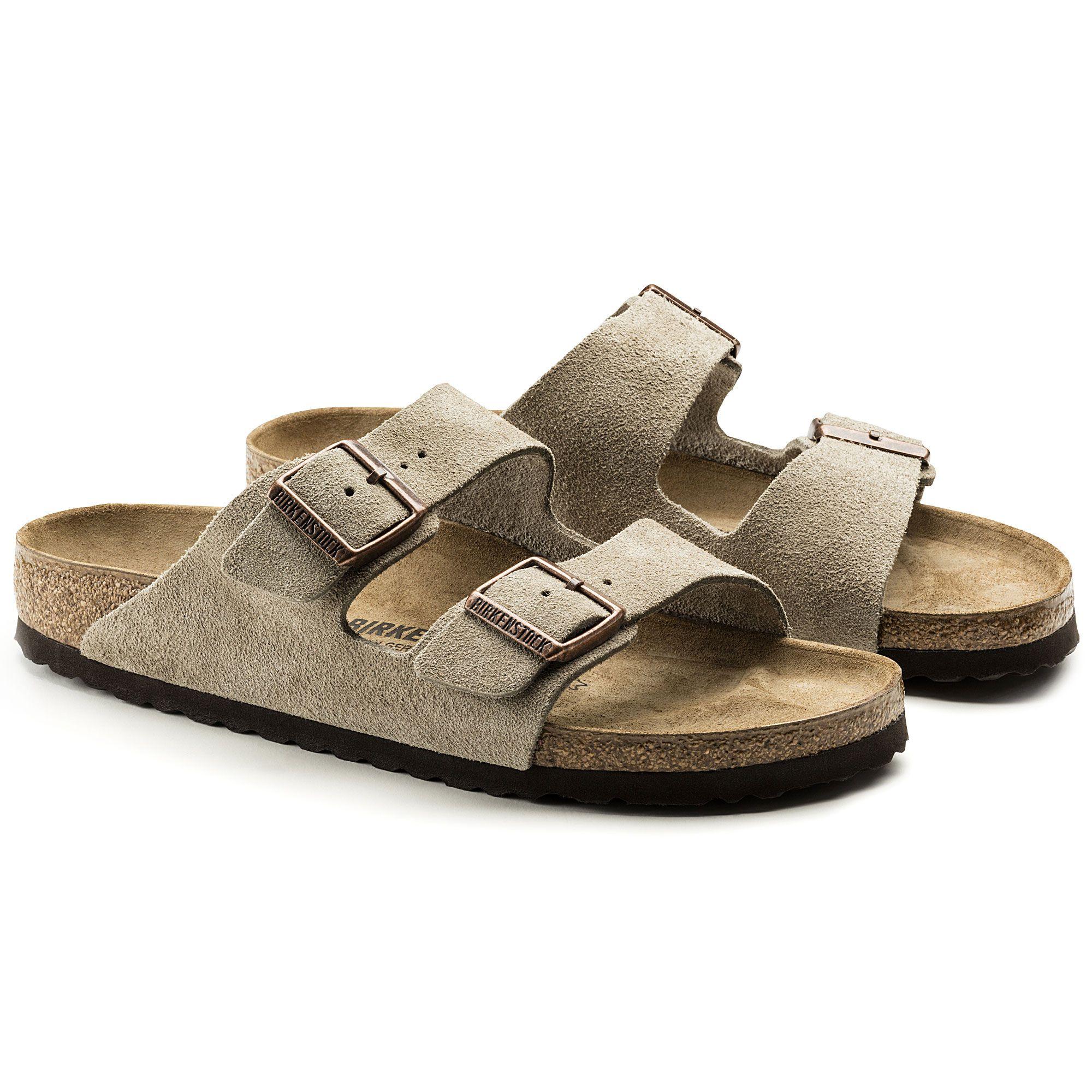 Zapatos grises de verano formales Birkenstock Arizona para mujer 8ozy7rZ3d