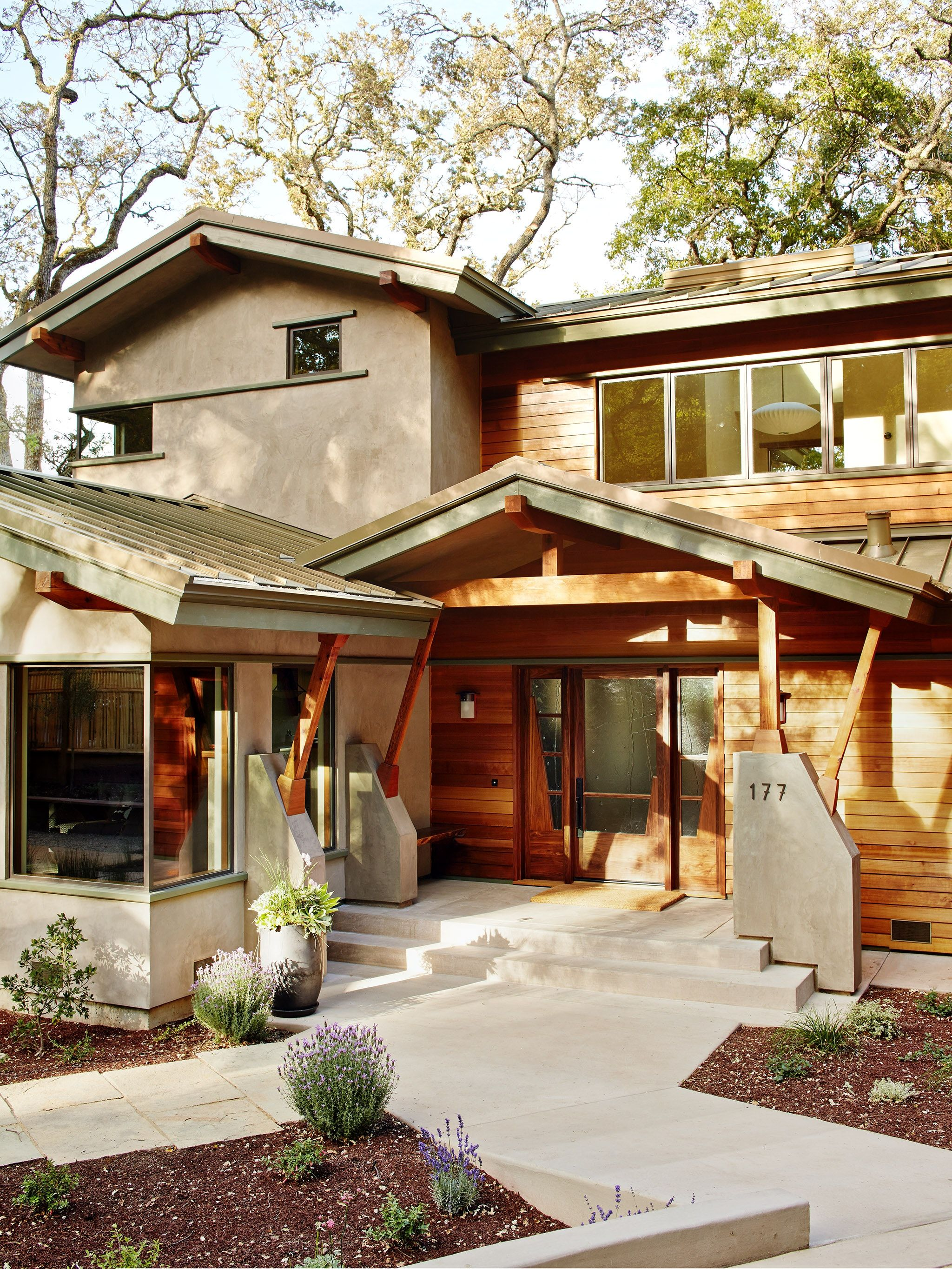 House In The Woods Above Silicon Valley External Ideas