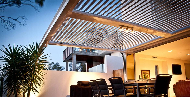 Opening Patio Pergola Roofs