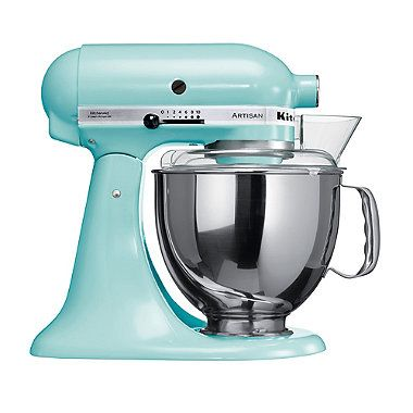 Charmant Ice Blue KitchenAid® Artisan® Stand Mixer With Free Gift   From Lakeland