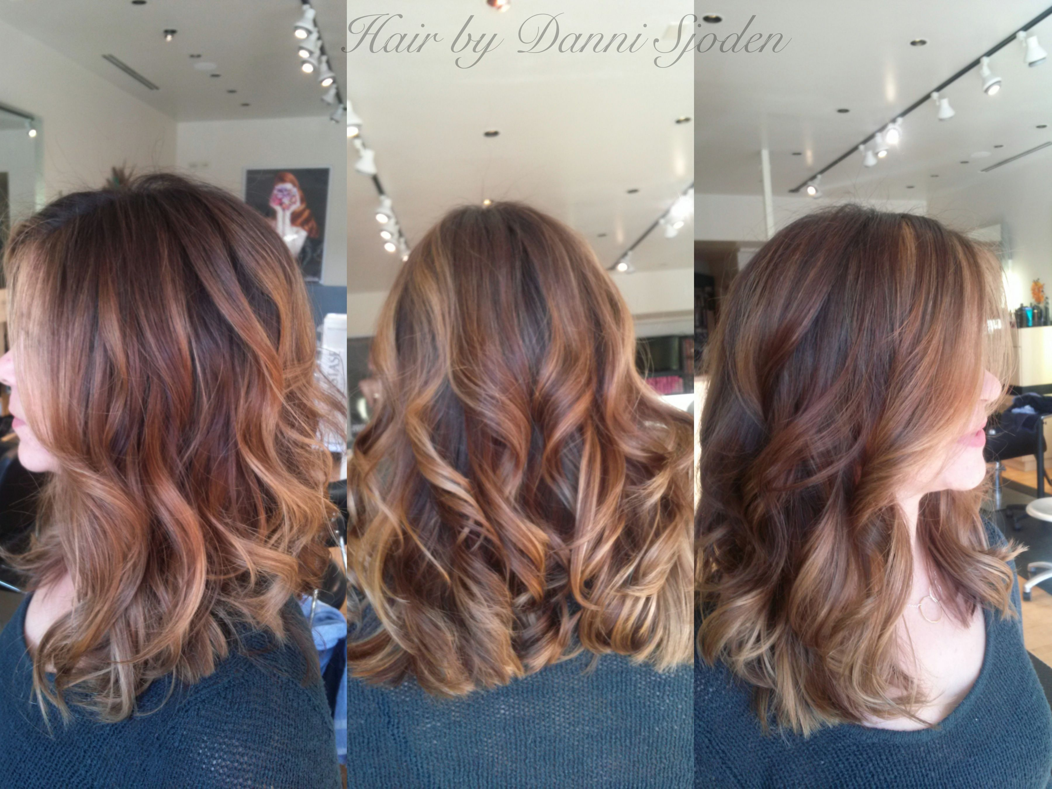 Balayage Ombre39 On Shoulder Length Hair Hair By Danni