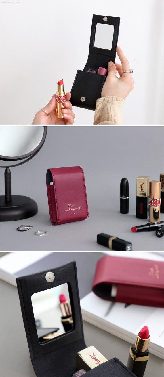 Lipstick Pouch [4Colors] / Makeup Pouch / Perfume Pouch