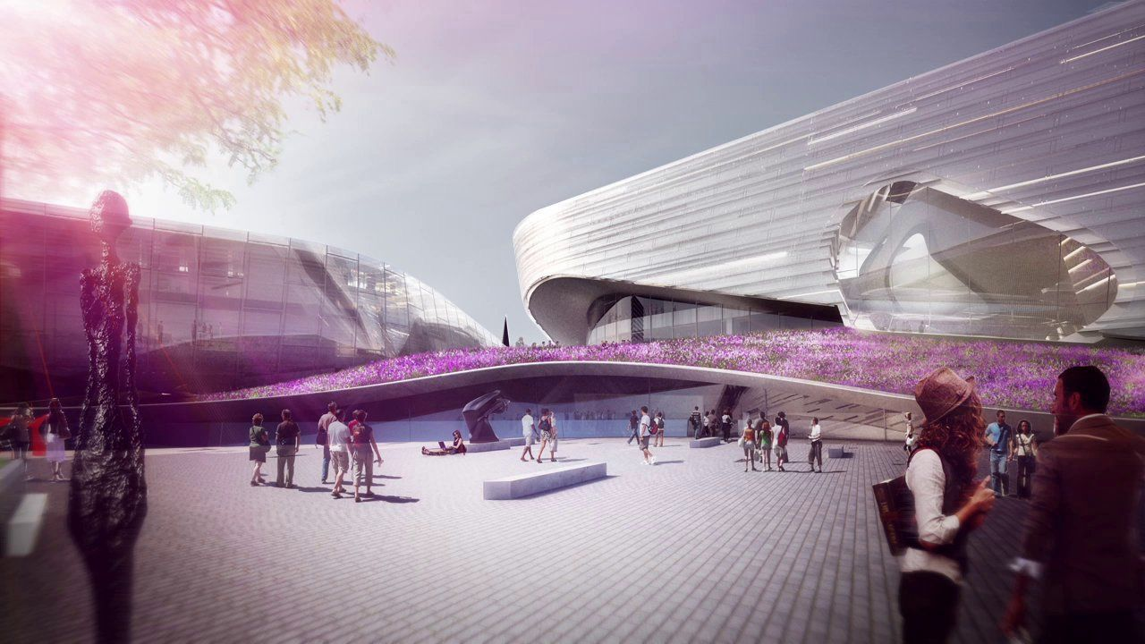 Museum of Fine Arts, Houston, Competition Animation by