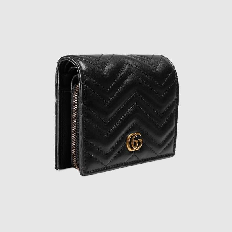 8dee8941912a37 GG Marmont leather wallet - Gucci Women's Wallets & Small Accessories  546580DTD1T1000