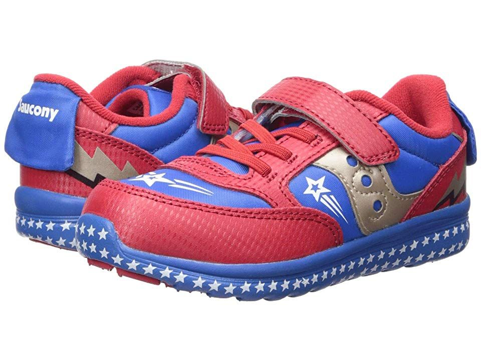 3540610e Saucony Kids Originals Jazz Lite (Toddler/Little Kid) Boys Shoes Red ...