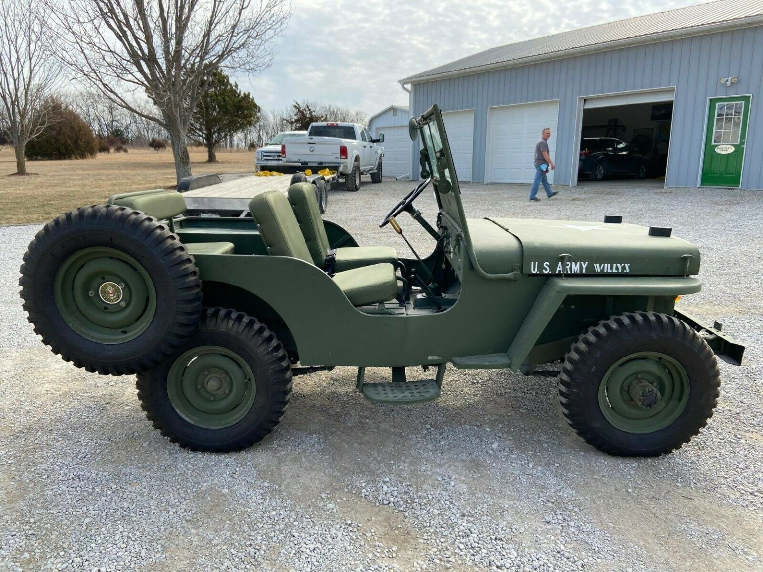 1948 Jeep Willys Cj2a For Sale In 2020 Willys Jeep Willys Jeep