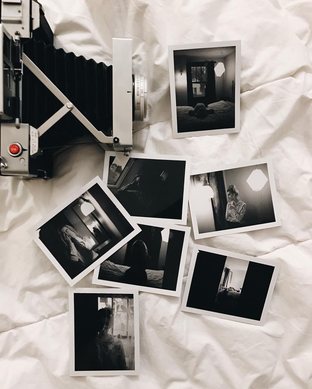 Polaroids with @brittabug. Very excited to receive films scans from this shoot. Head over to my IG story for some close ups of each polaroid. :) #polaroid180 #longlivefilm #fp3000b