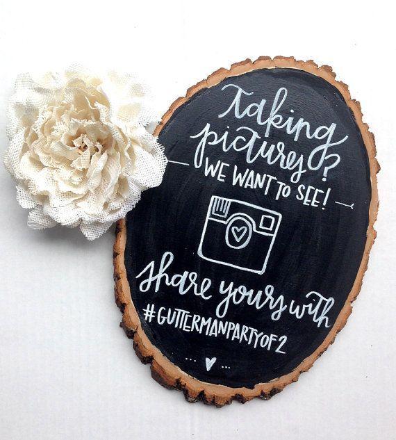 Hashtag Anniversario Matrimonio.Wedding Instagram Hashtag Chalkboard Inspiration Rustic