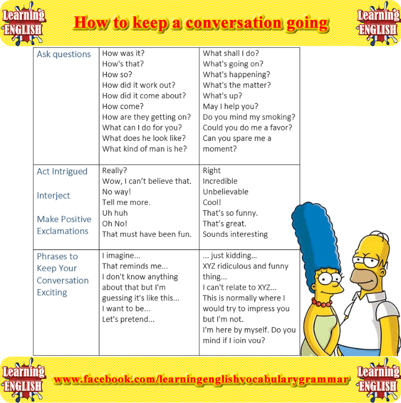 how to keep a conversation going on