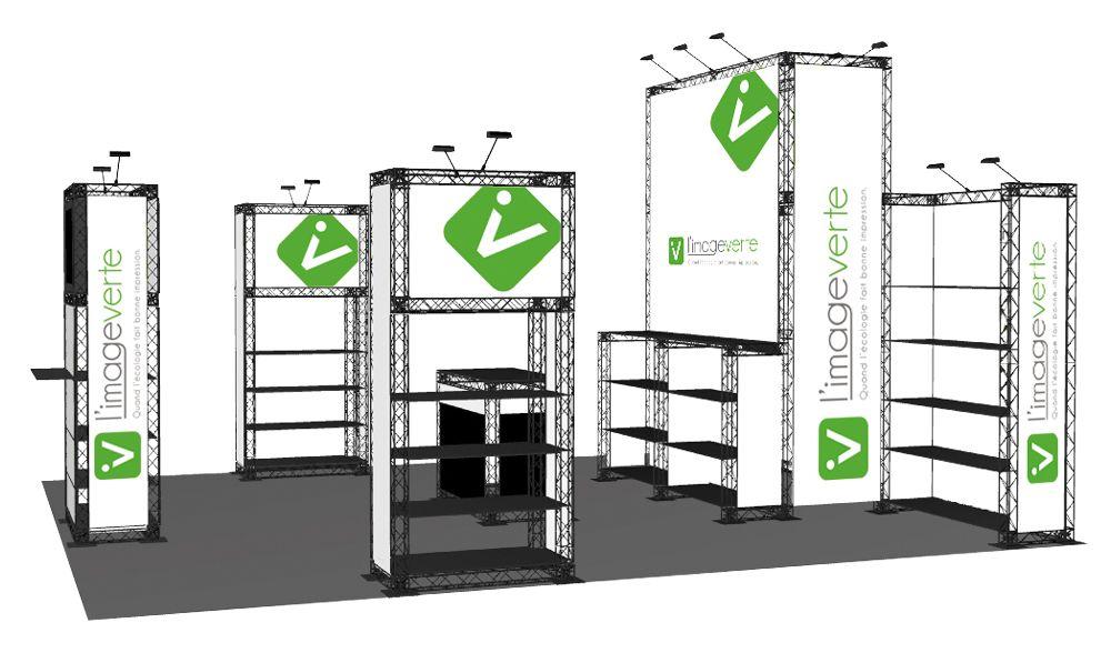 Structures modulaires sur-mesure pour des expositions efficaces