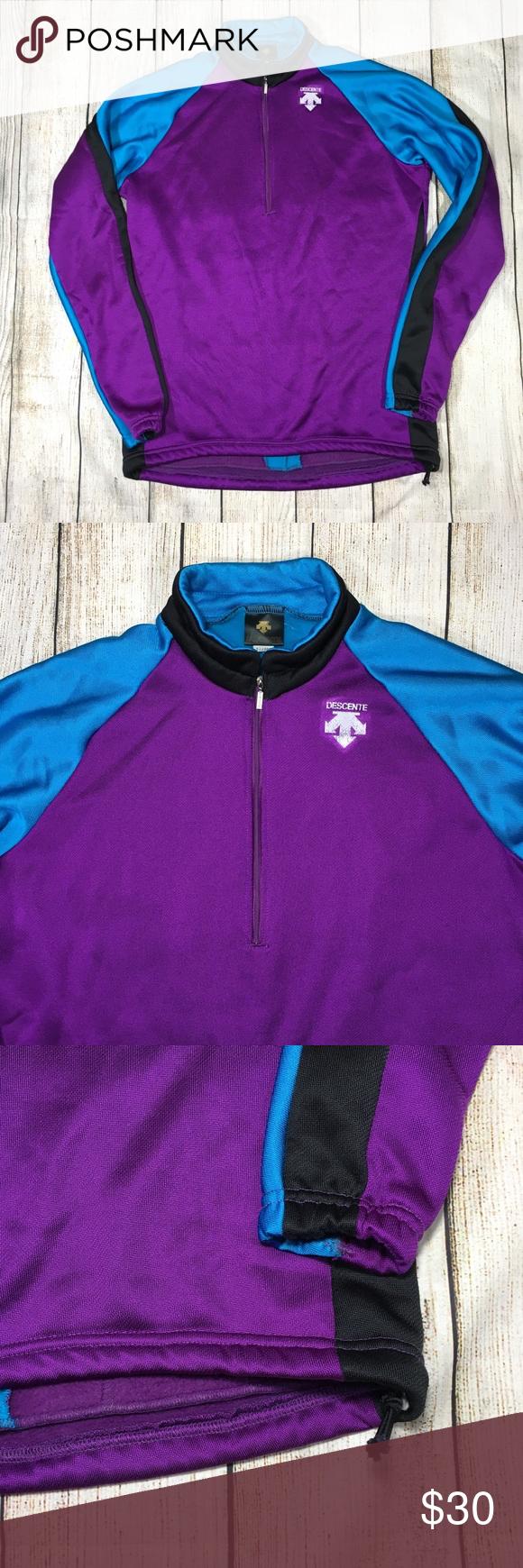 Descente athletic polar fleece jacket usa made xl my posh picks