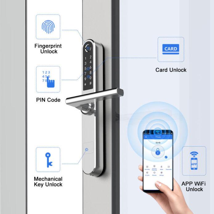 Labutech New Smart Lock For Automatic Check In Smart Lock Digital Door Lock Automatic Door