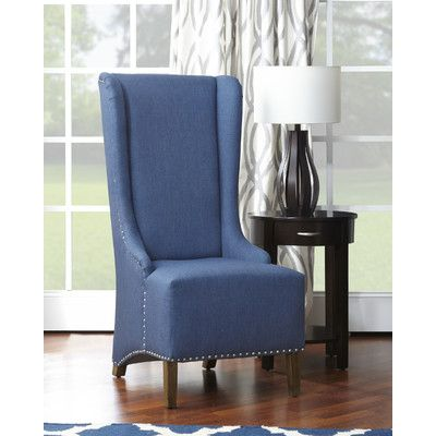 Naomi High Back Slipper Chair | Wayfair