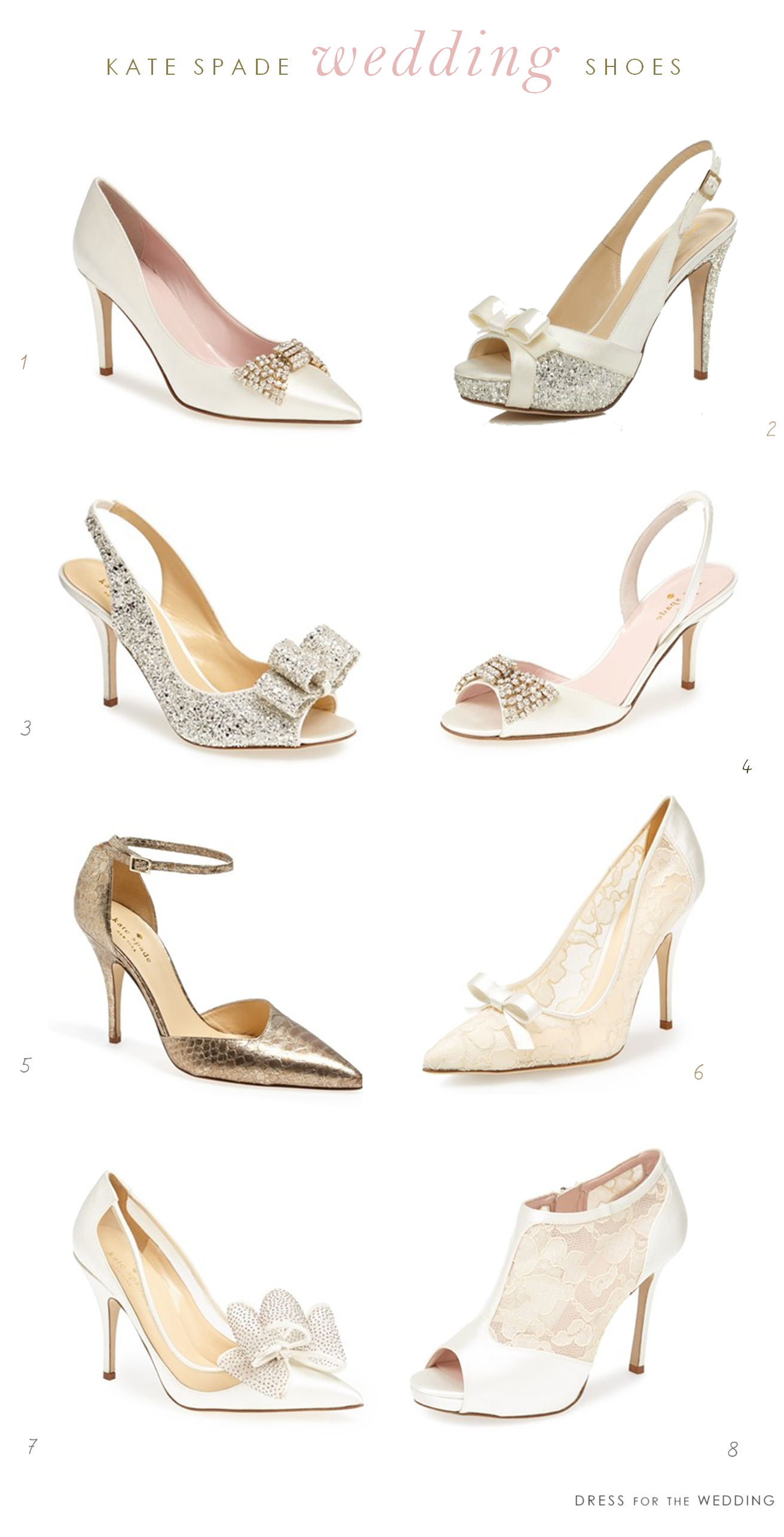 fb9225a74cb5 8 of My Favorite kate spade new york Wedding Shoes