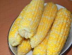 Milk Boiled Corn on the Cob -interesting.