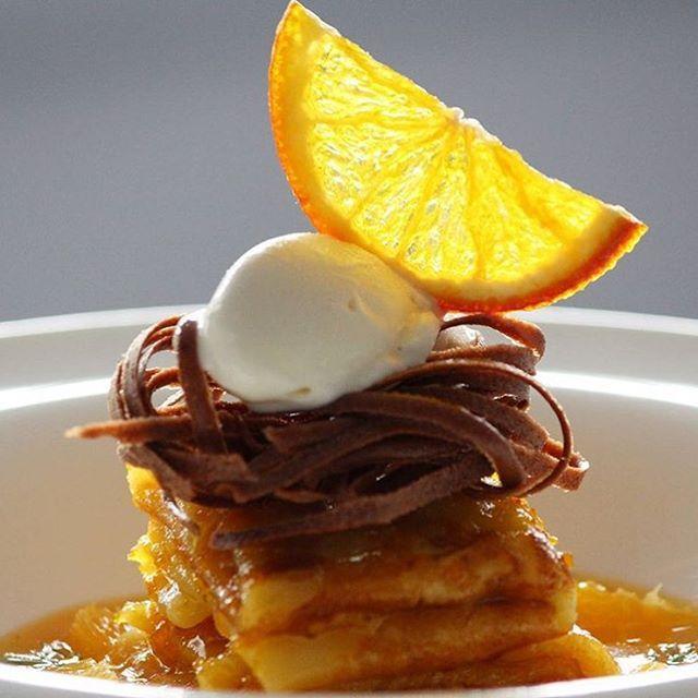 Crepe a la mode. By @mohit_dudejaa  #DessertMasters