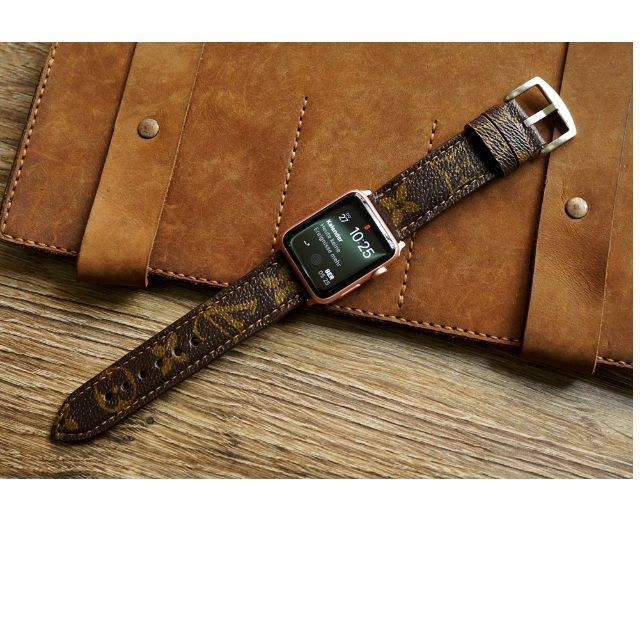 306ec6bf0ef LV Straps cut from Authentic Louis Vuitton Old Bags Custom Made for Apple  Watch