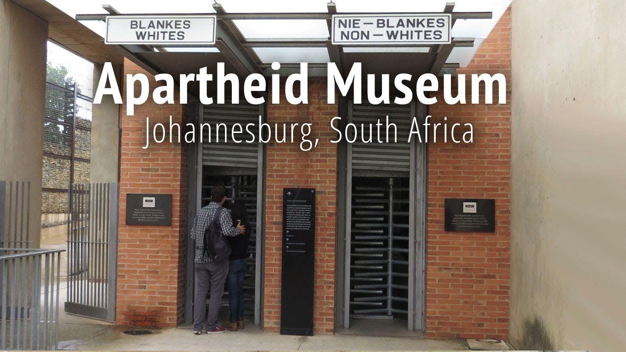 Apartheid Museum In Johannesburg South Africa Youtube Apartheid Museum Johannesburg Day Tours