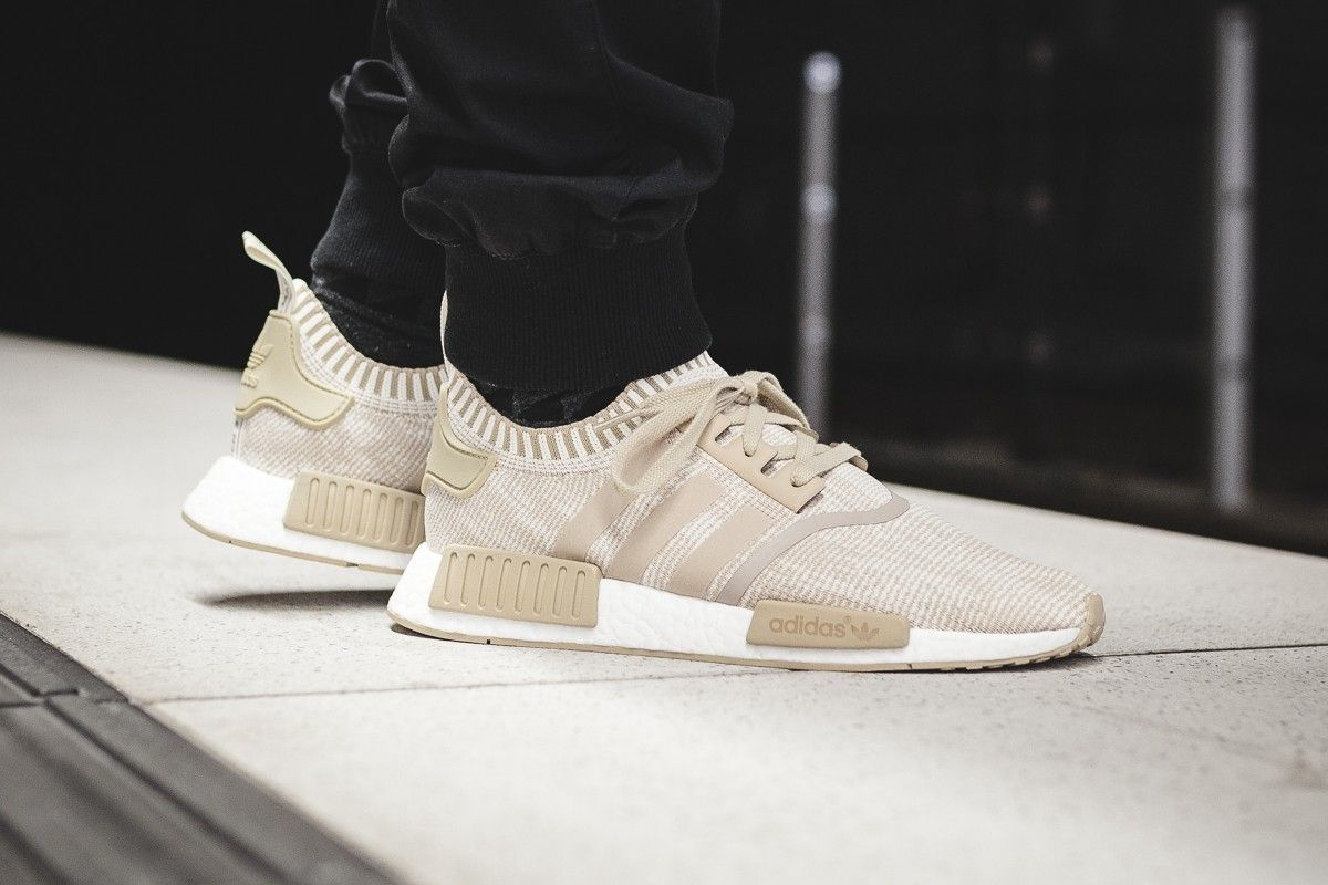Release Date : May 20, 2017 Adidas NMD_R1 Primeknit Linen Khaki / Off White  Credit