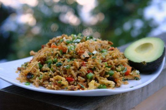 Chaulafan de pollo or Ecuadorian chicken fried rice recipe   KeepRecipes: Your Universal Recipe Box