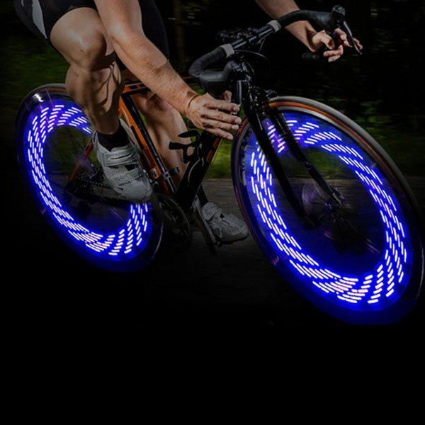 4 05 A08 Bicycle Cycling Tire Valve Cap Light Auto Light Shake
