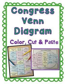 Congress venn diagram color cut and paste senate and house congress venn diagram color cut and paste senate and house ccuart Choice Image