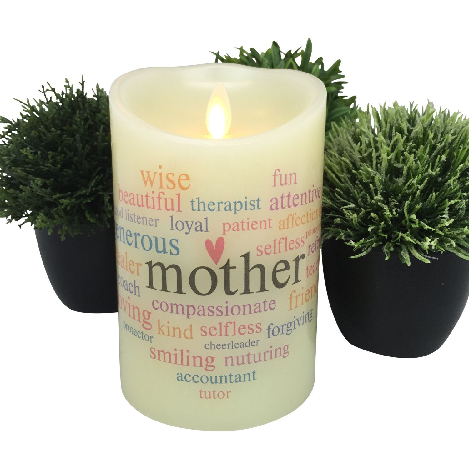 Flameless Candle - Gift Ideas for Mother - LED Candle ...
