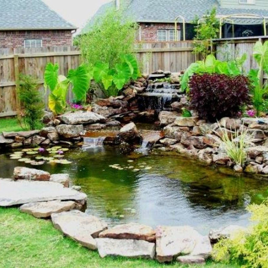 Awesome Koi Pond Designs You Can Build Yourself To ...