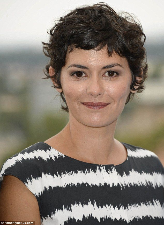 Monochrome Chic Audrey Tautou Is A Picture Of Elegance In Black And