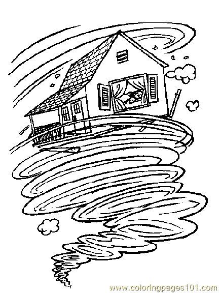 View Source Image Wizard Of Oz Color Wizard Of Oz Tornado Coloring Pages