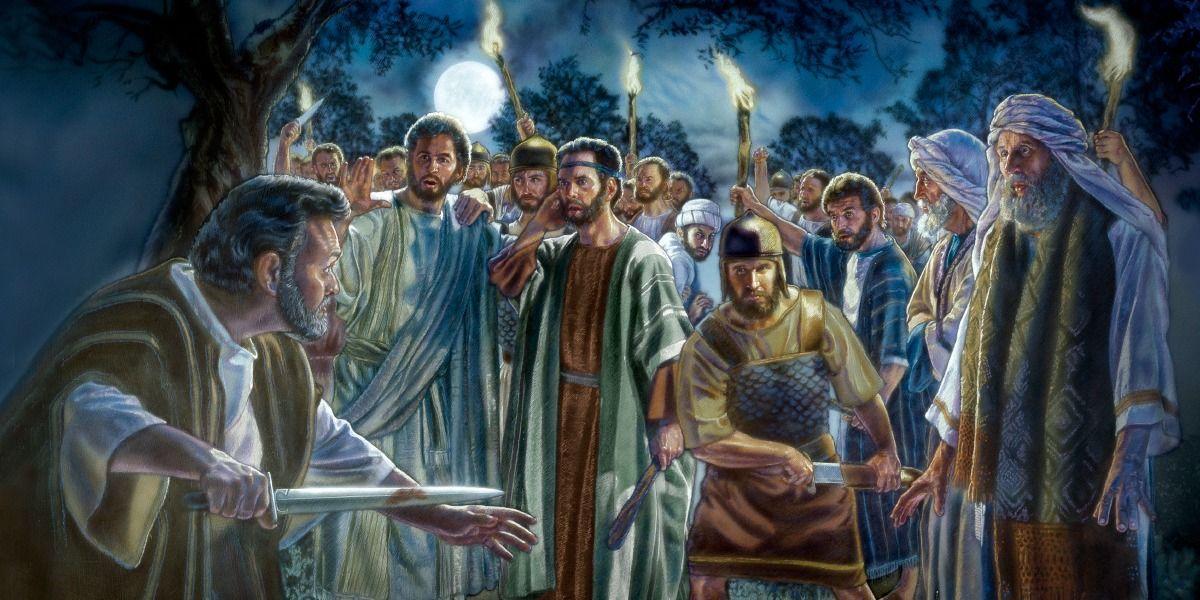 Judas Betrays Jesus With a Kiss Peter bible, Biblical