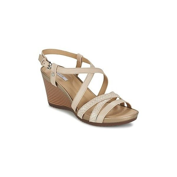 Geox NEW RORIE D Sandals (160 CAD) ❤ liked on Polyvore