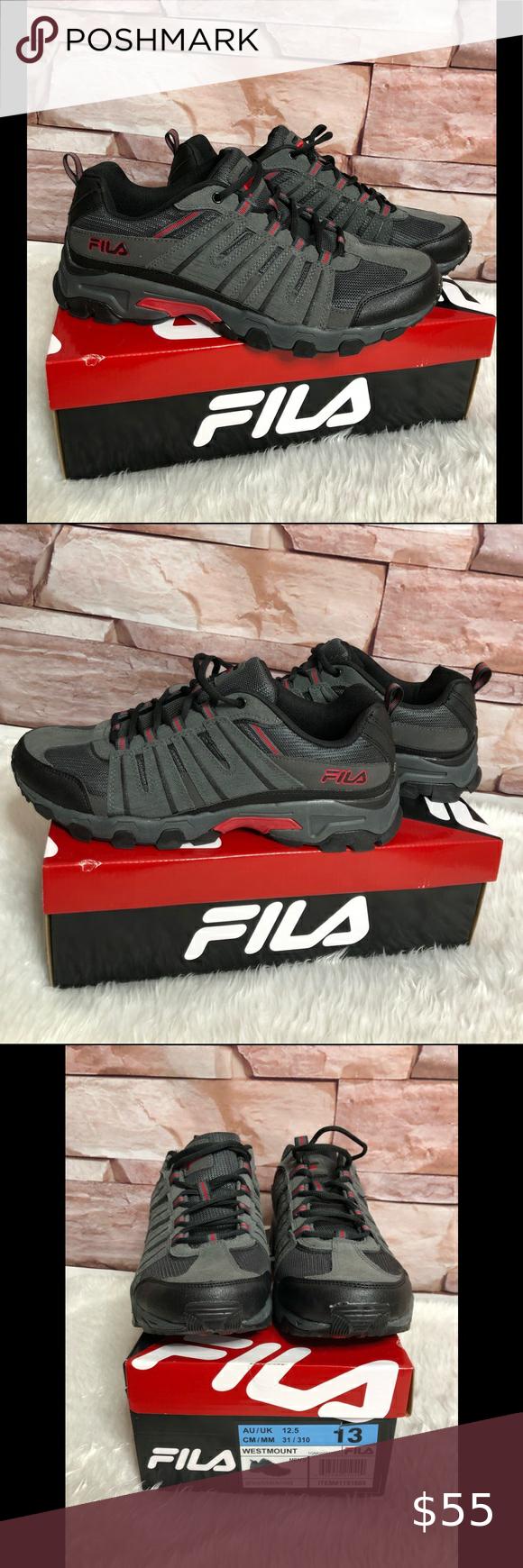 Fila Westmount Hiking mens shoes size