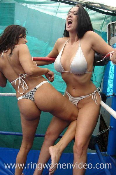Womens Wrestling From Ring Women Video  Womens Wrestling-2338