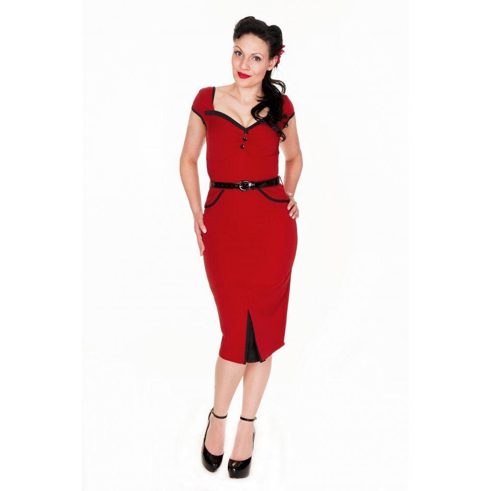 1950s style rockabilly dress | Wedding dress | Pinterest