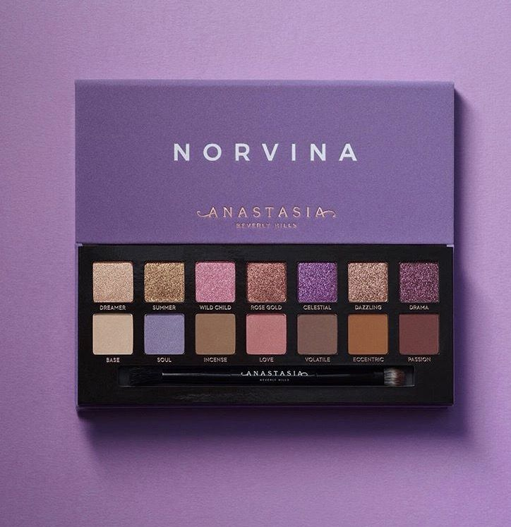 Anastasia Beverly Hills Novina Eyeshadow Palette - eyemakeup #eyemakeup