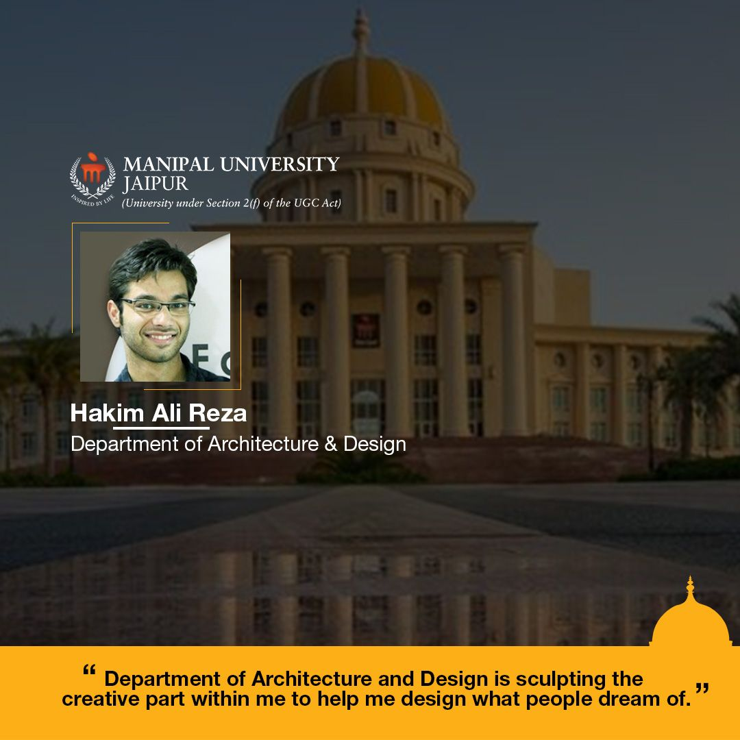 Department of Architecture & Design, Manipal University