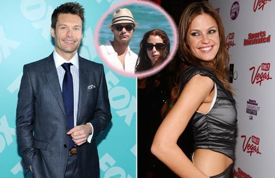 is ryan seacrest back with his girlfriend