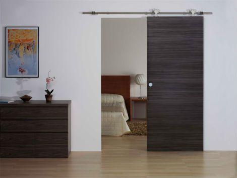 Puertas con riel manualidades pinterest buscar con for Riel puerta corredera
