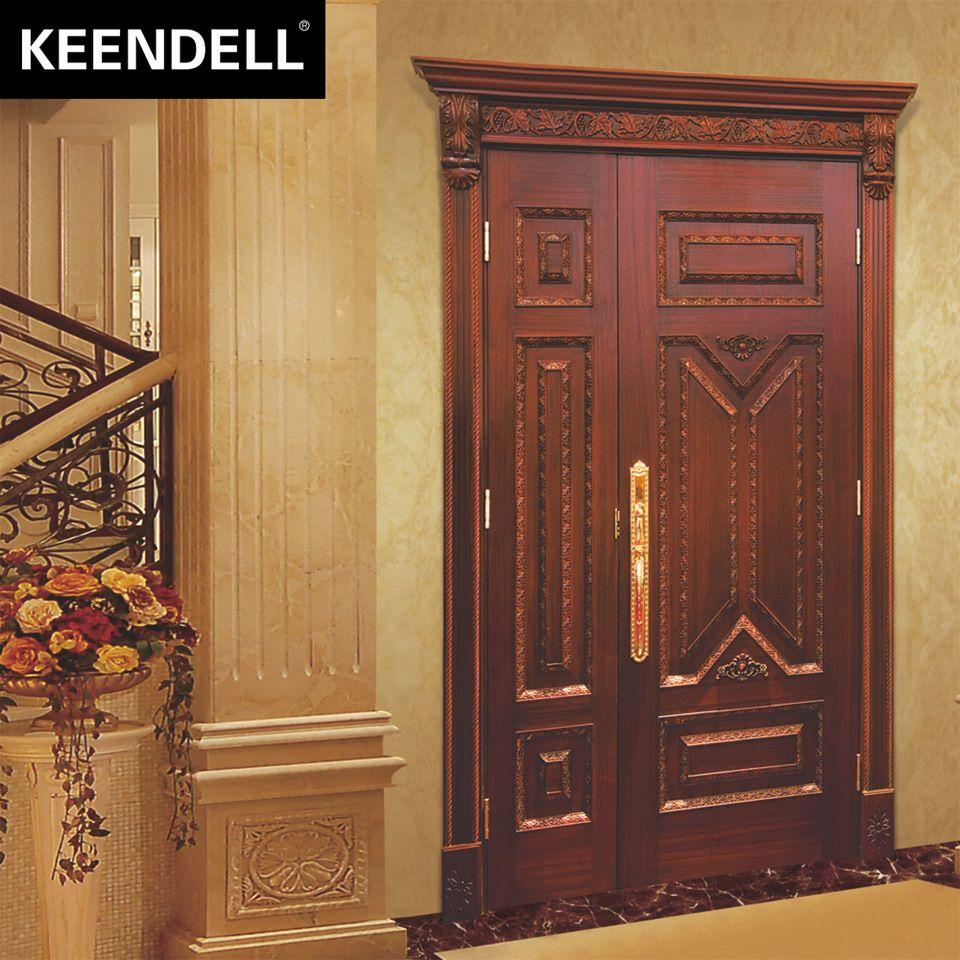 Safety Door Design Unequal Leaf Wooden Door Door Design Wooden Doors Design