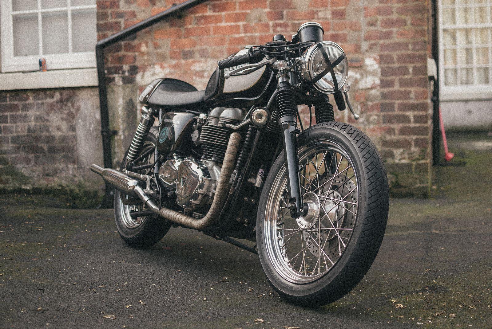 triumph bonneville t100 cafe racer parts | Motorbk co