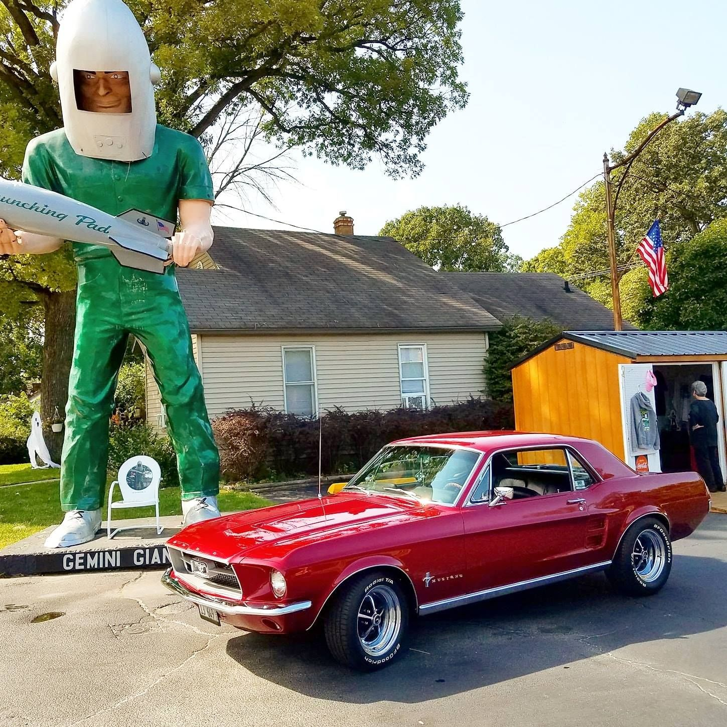 1967 Mustang Coupe Ford Parts