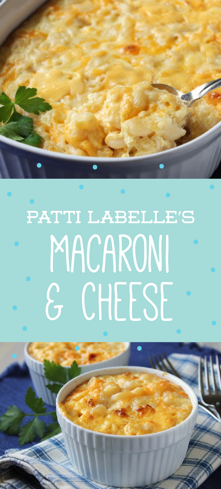 Baked And Macaroni Cheese Patti Labelle