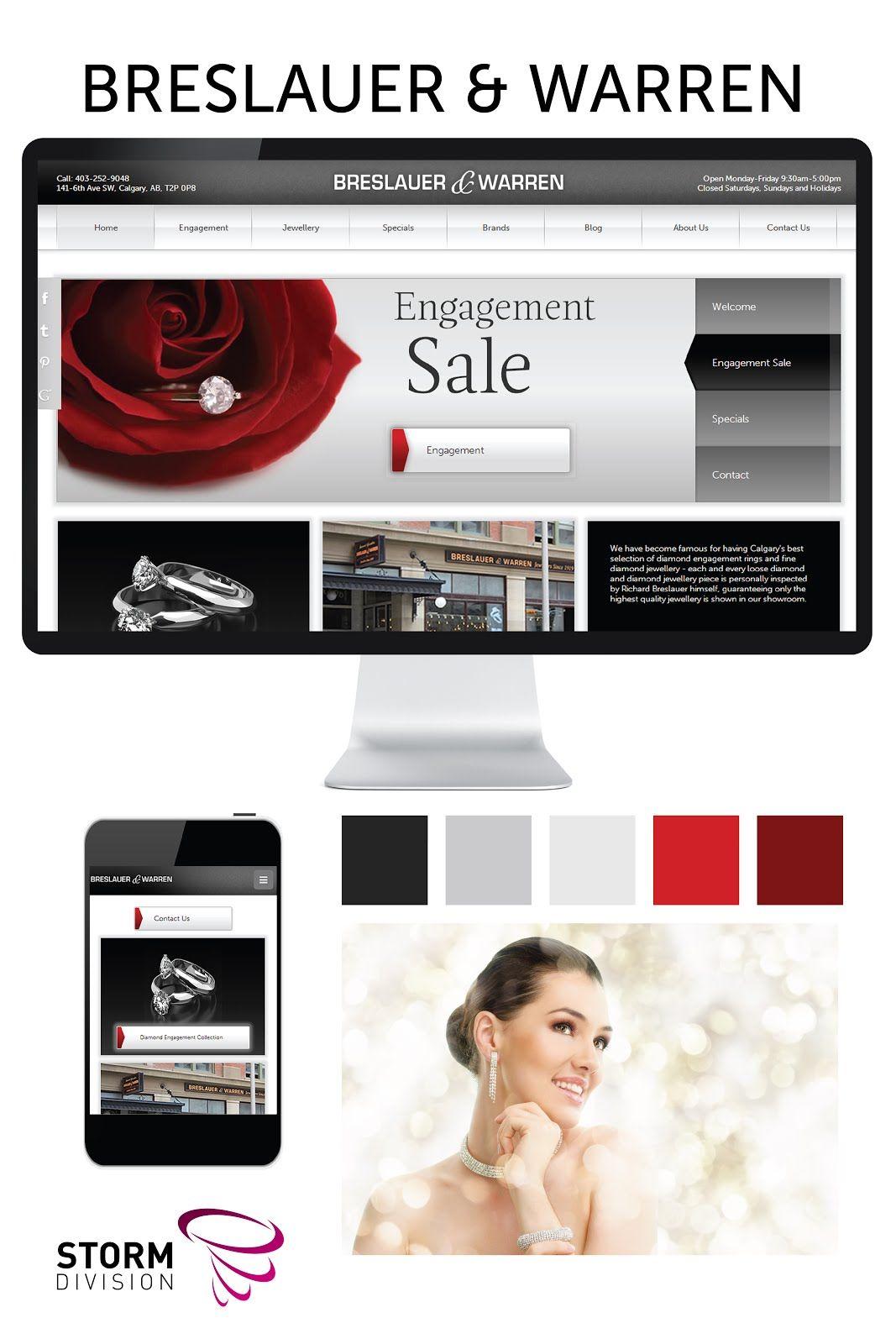 Breslauer Warren Custom Web Design Full Responsive Web Site Custom Web Design Online Marketing Web Design