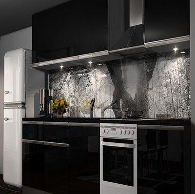 Küche rückwand  Küchenrückwand Folie Möbel & Wohnen Kuechenrueckwand Folien 717509 ...