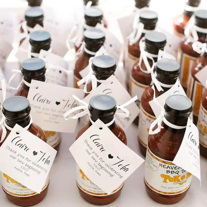 Edible wedding favors ideas barbecue sauce barbecue and edible edible wedding favors ideas junglespirit Images